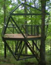 photo of: Floating Forest Deck and Swing Platform
